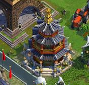 Korean temple H