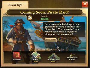 Pirate event