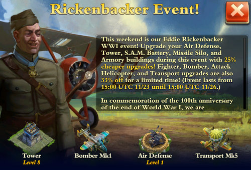 Rickenbacker Event