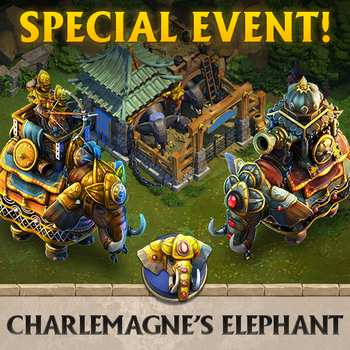Charlemagne's Elephant Event Poster