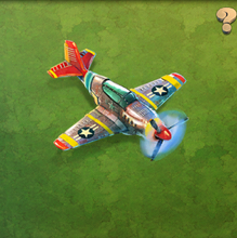 P-51 Red Tail