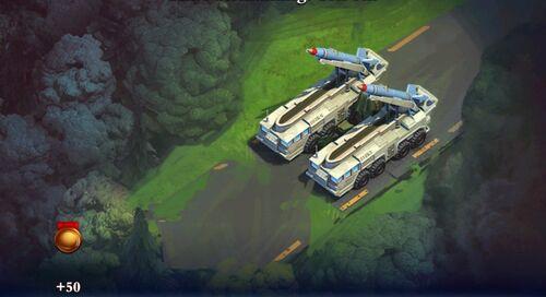 SCUD Missile Encampment Sale
