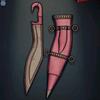 Kopis Sword, pink colour