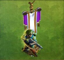 Green Jacket Rifleman Army
