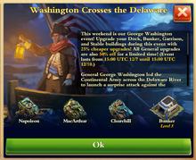 Washington Crosses Delaware