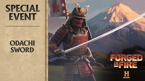 Forged in Fire - Odachi Large