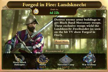 Forged in Fire-Landsknecht