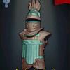 Gush X'een Tlingit Armor - Turquoise