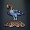Modu's Bird Finial, elecric blue colour