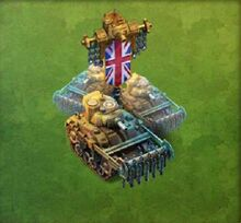 Sherman Crab Tank Army