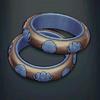 Garakji Rings - Electric Blue