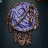 Native American Shield - Blue