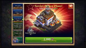 Soviet Power Plant Sale