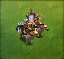 Horse Raider Army