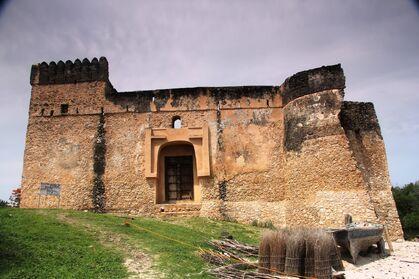 Portugese Gereza, Ruins of Kilwa Kisiwani, Kilwa Beach Lodge