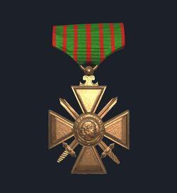 Captain's Croix de Guerre Large