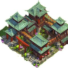 Oriental-style Town Center in the Classical Age. (Level 5)