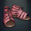 Agrippa's Boots - Pink Colour