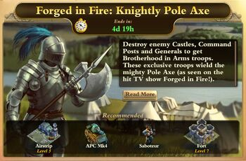 Forged in Fire-Knightly Pole Axe