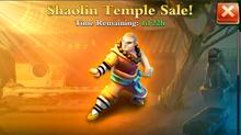 Shaolin Monk Sale