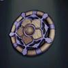 Scottish Agate Brooch, level 1 blue