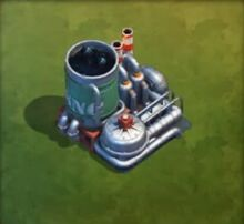 Oil refinery lvl 7