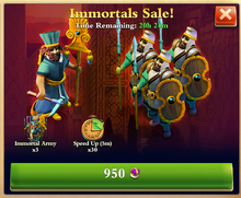 Immortal Sale