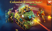 Colonial Ranger Sale
