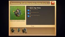 Wall Breacher Army