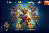 Finnish Ski Infantry Sale