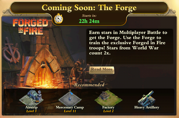 Forged in Fire - The Forge