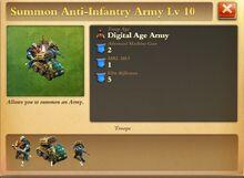 Anti-Infantry Army