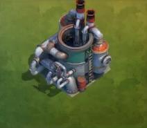 Oil refinery lvl 6