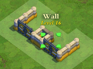 Wall and Gate Level 16