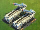 SCUD Missile Encampment