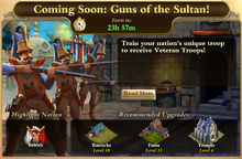 Guns of the Sultan Event