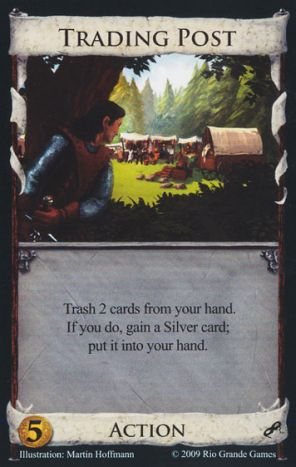 Trading post dominion card game wiki fandom powered by wikia trading post pronofoot35fo Gallery