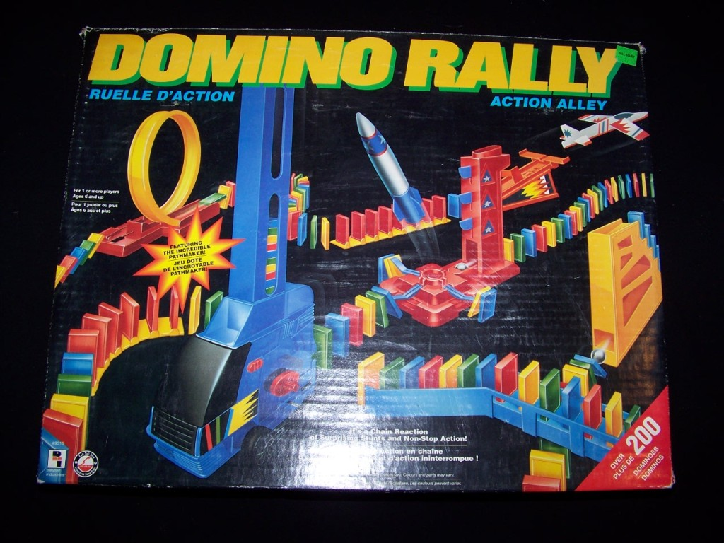 Image result for Domino Rally 1980s