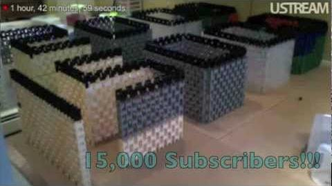 15,000 Subscribers Special - 7,000 Dominoes!!!