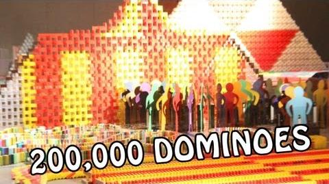 200,000 Dominoes - The Circus - CDT 2012 (HD)