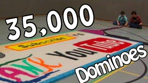 35,000 Dominoes - 10,000 Subscribers Special