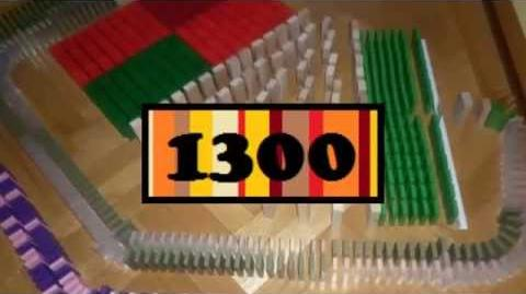 16,500 dominoes - Domino Projects