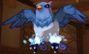 Cyan Feather Demon Bird