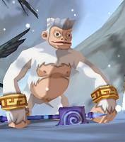 Wise White Monkey