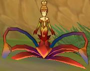 Fiery Flower Spirit