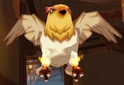 Fire Feather Demon Bird