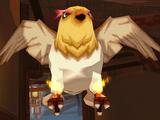 Fire Feather Devil Bird