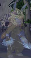 Ghostly Rabbit Warrior