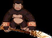 Black Divine Monkey Warrior