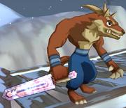 Wicked Wolf Necromancer